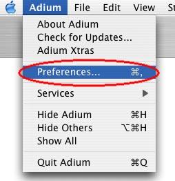 How to set up Google Talk on Mac OS X with Adium - Spudart