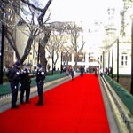 A mile-long red carpet for Chicago's Magnificent Mile