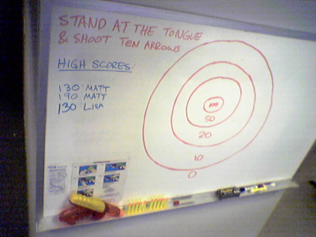 New Toy Friday Dart Gun Whiteboard Target Spudart