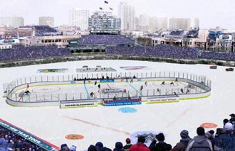 Tickets to ice skate on Wrigley Field