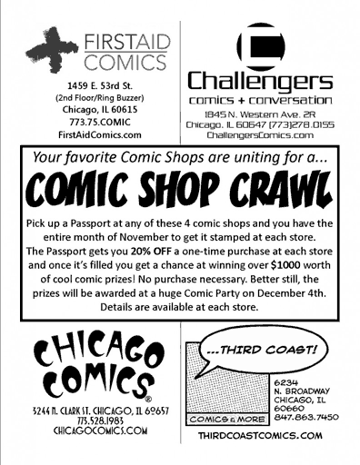 Chicago Comic Shop Crawl