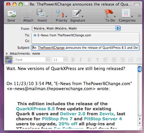 Quark 8.5 released