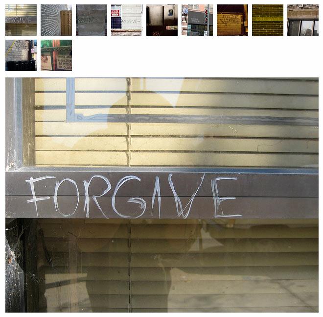 Forgive, 2008-2009