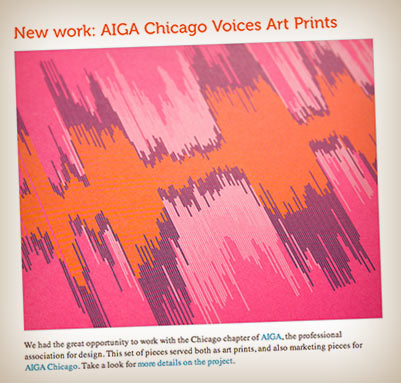 Voices visualized on paper
