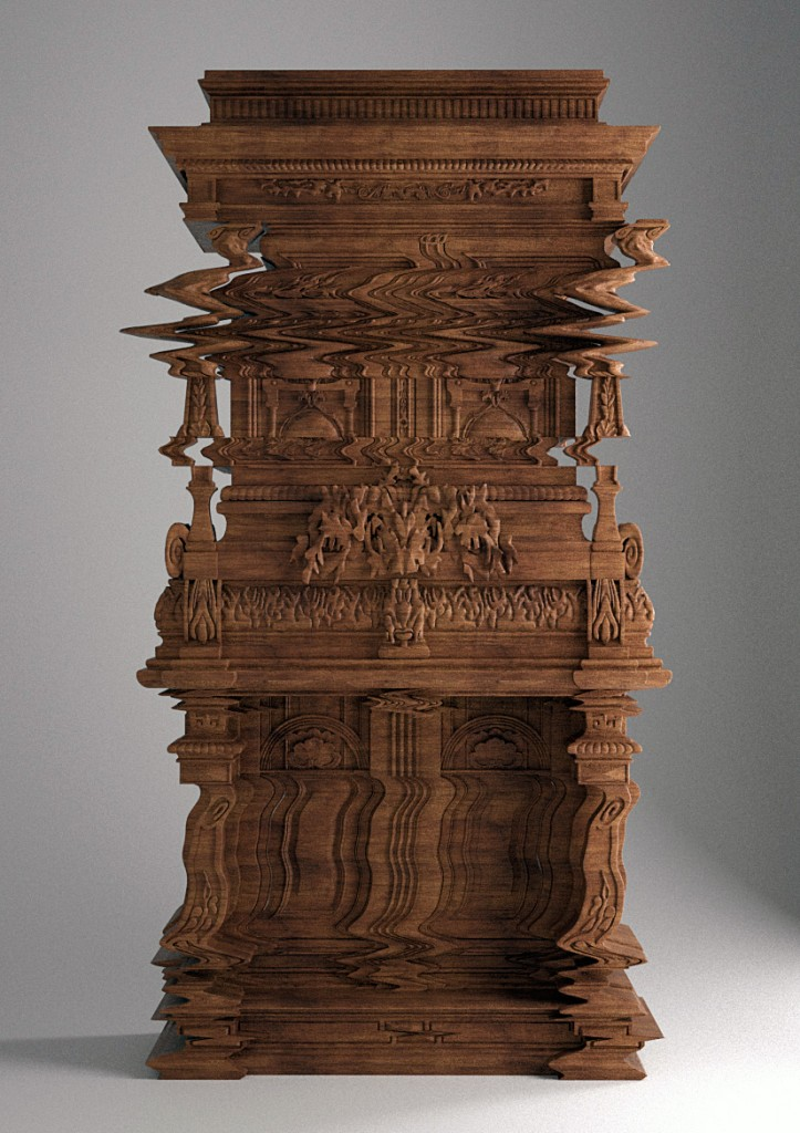 totally wacked-out cabinet