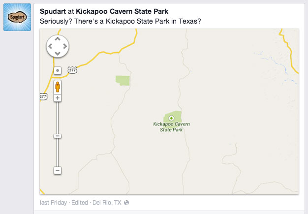 Kickapoo on facebook