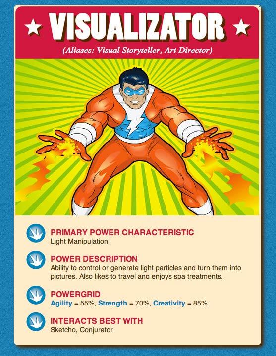 Primary power characteristic: light manipulation