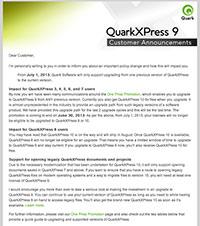 Quark email 5