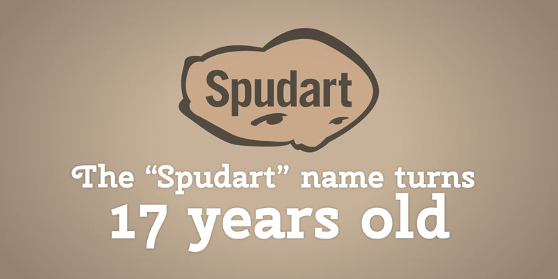 The origin of the spudart name 17 years ago