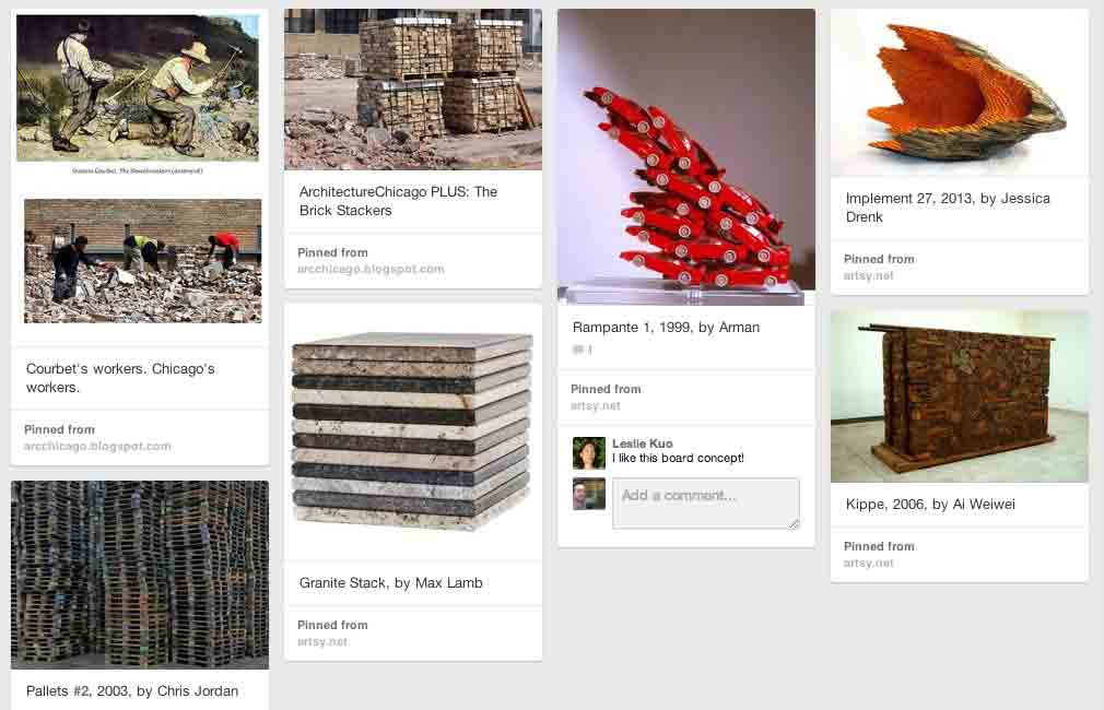Stacks and piles on pinterest