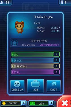 Teela Kryze, ewok, Tiny Death Star