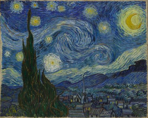 Original: Vincent van Gogh Starry Night