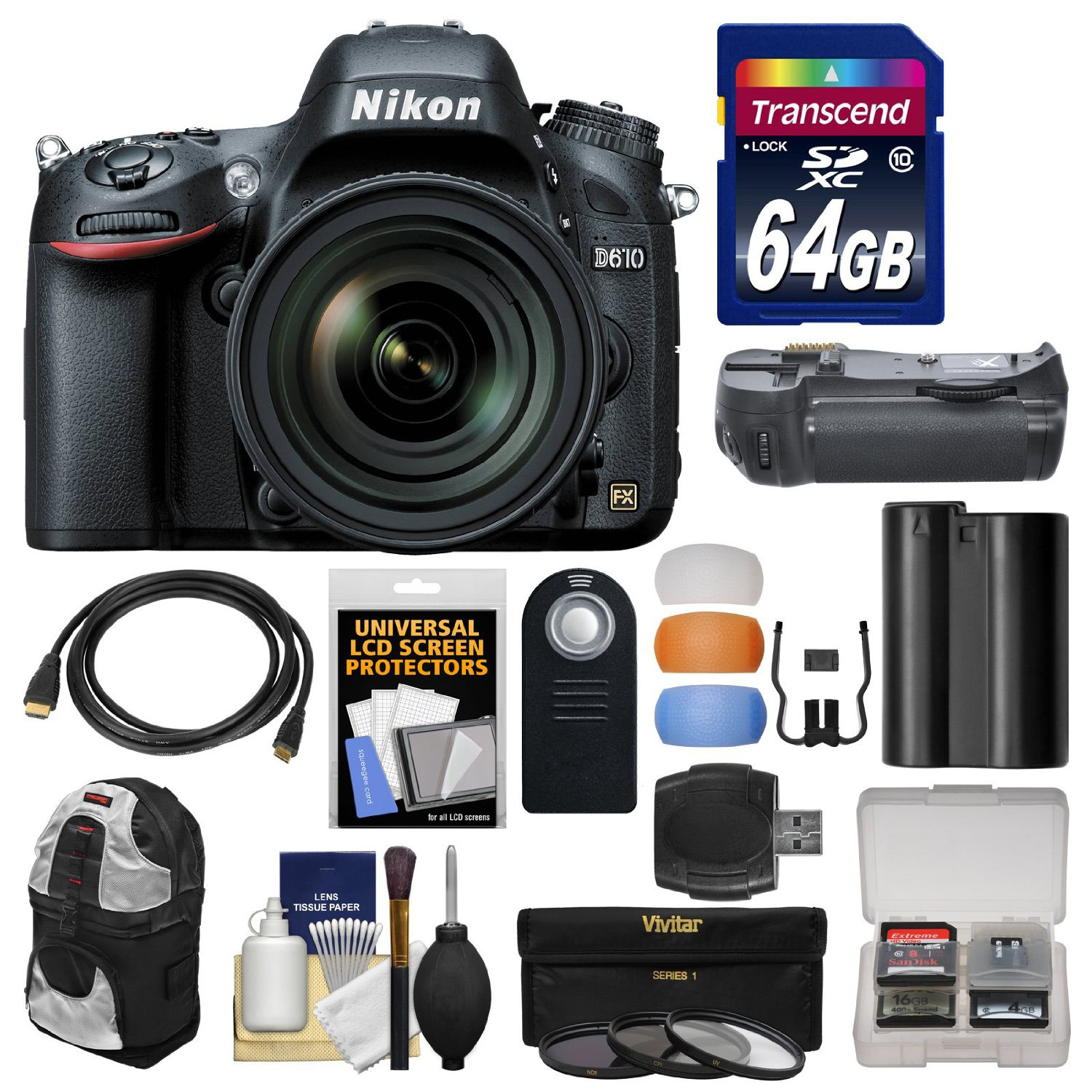 The Best Nikon D610 Bundle Deal Spudart Cleaning Kit 7 In 1 Calculated Value Of Freebies 16058