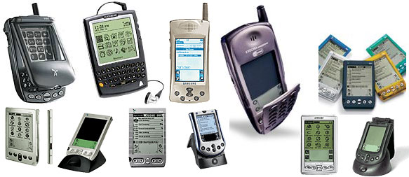 2002 PDA devices