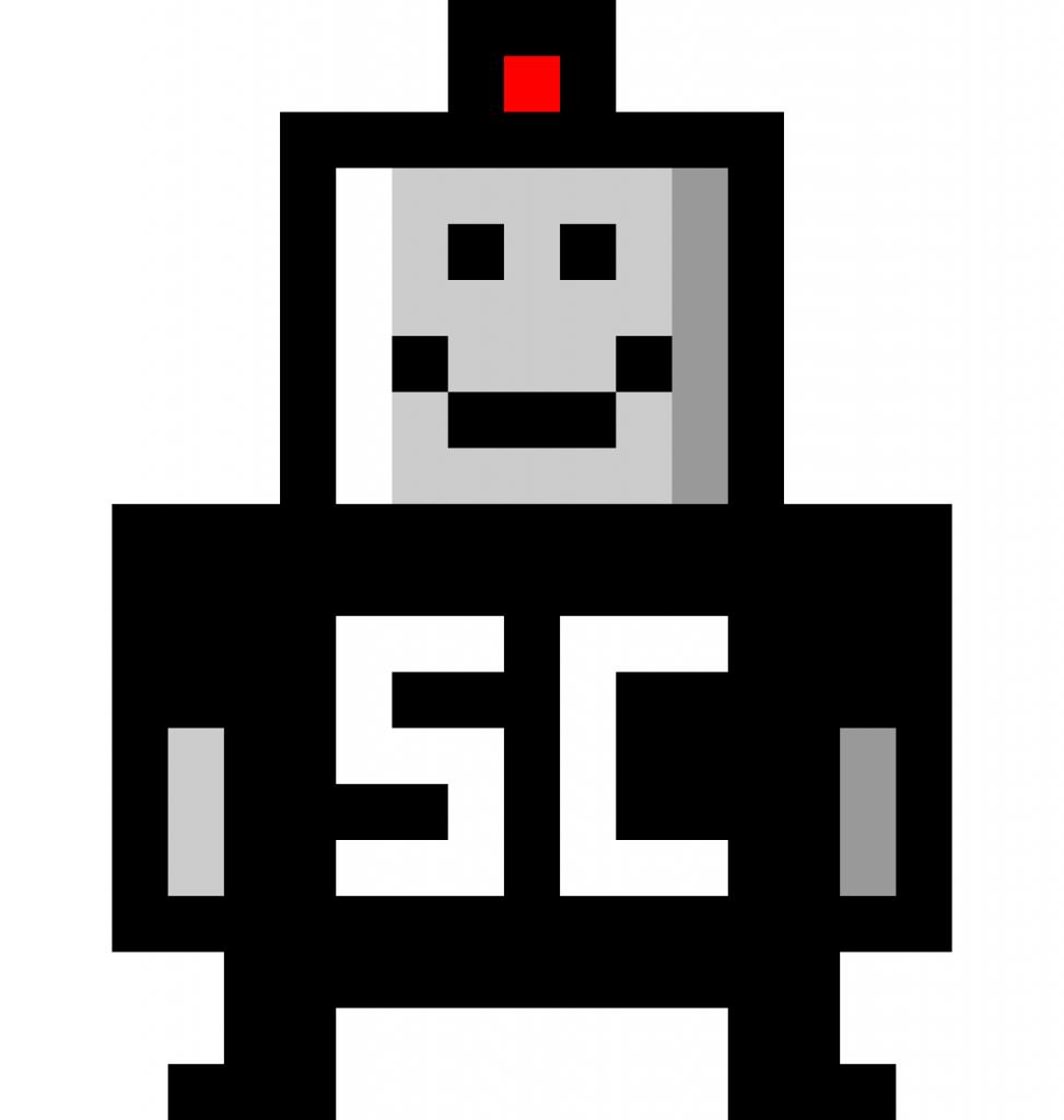SmarterChild chatbot logo icon at high resolution
