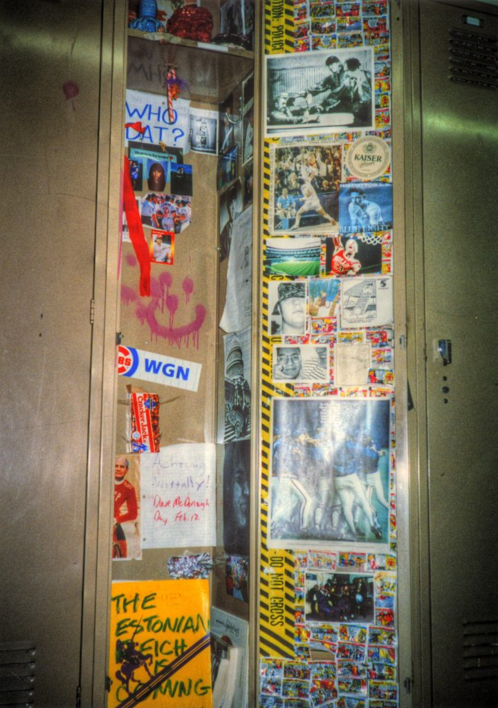 My high school locker 1993