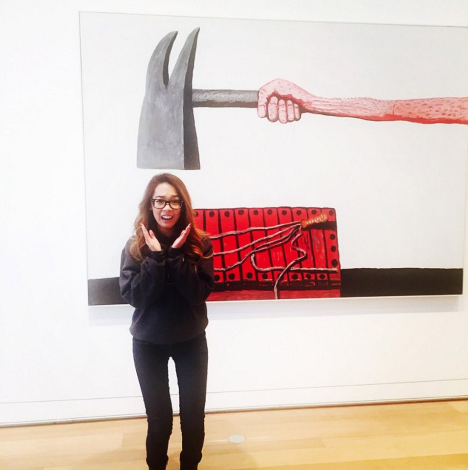 Getting hammered at the Art Institute of Chicago