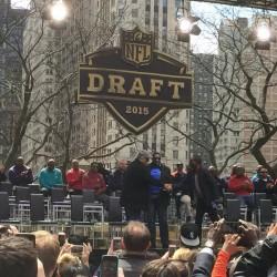 Dick Butkus at NFL Draft Chicago