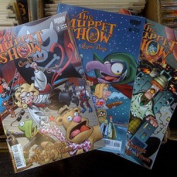 s I'm buying 3 more Muppets comic books, I'm finding comic book taste is skewing more to kids books :)