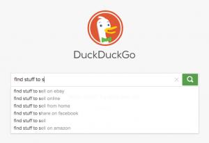 DuckDuckGo auto-fill