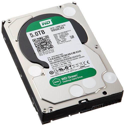 Internal hard drive, 5GB, Green