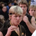 Johnny Lawrence, bully from 80s movie, Karate Kid