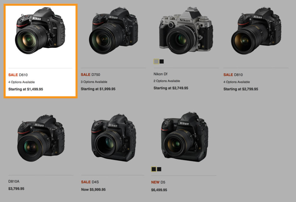The best Nikon D610 bundle deal - Spudart