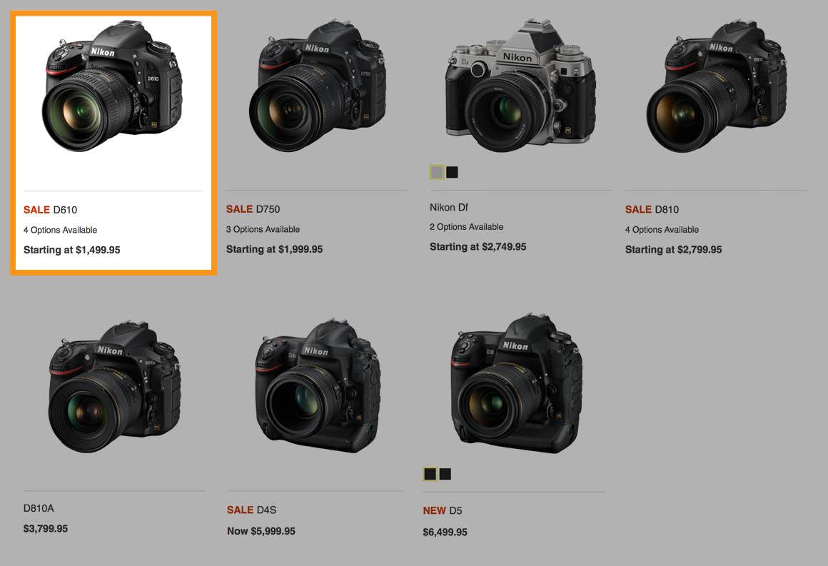 nikon-fx-dslr-cameras - Spudart