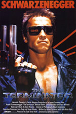 The Terminator poster from 1984