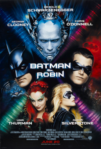 Batman & Robin movie poster 1997