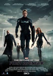 Captain America 2: Winter Solider poster 2014