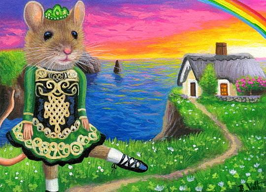 Bridget Voth: Little Irish Dancer