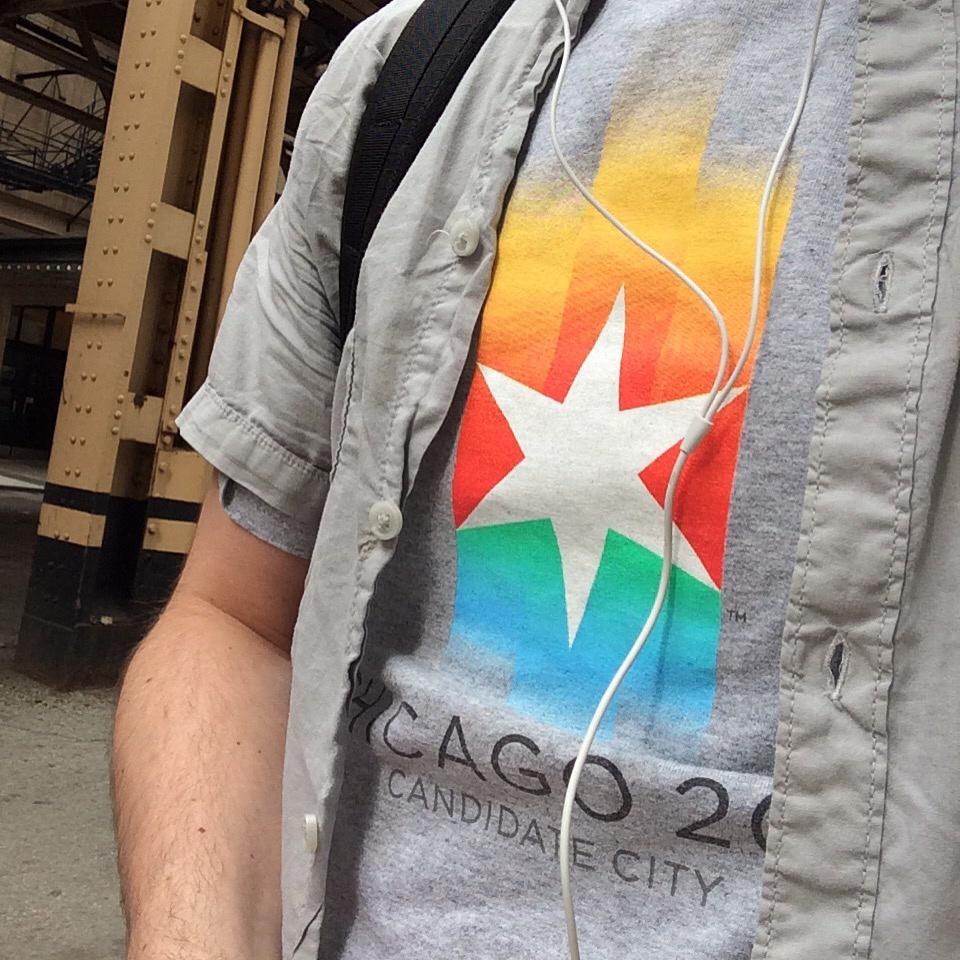 Chicago Olympics 2016 tshirt