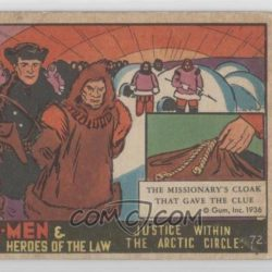 Justice within the Arctic Circle: front of card