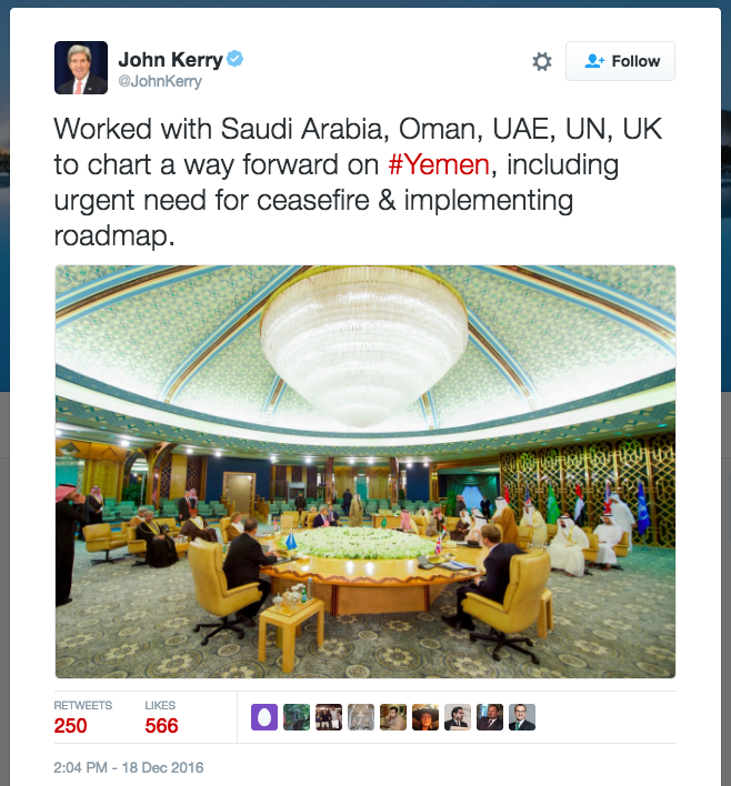 John Kerry on Star Wars set?
