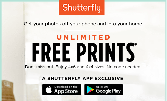 the truth behind shutterfly s unlimited free prints offer spudart