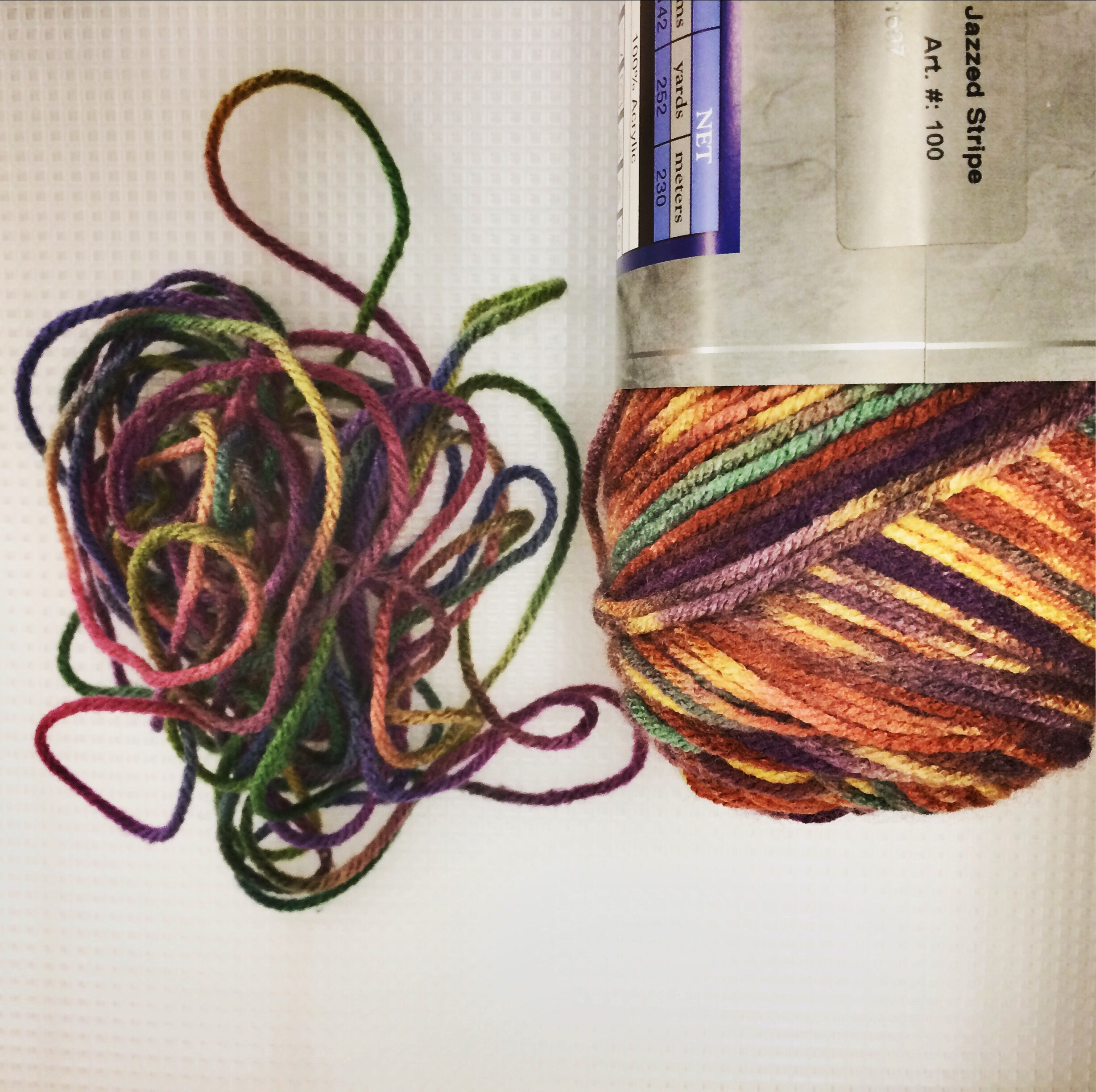 old yarn, new yarn