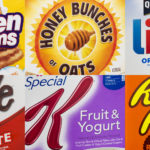 Analysis of my six favorite cereals