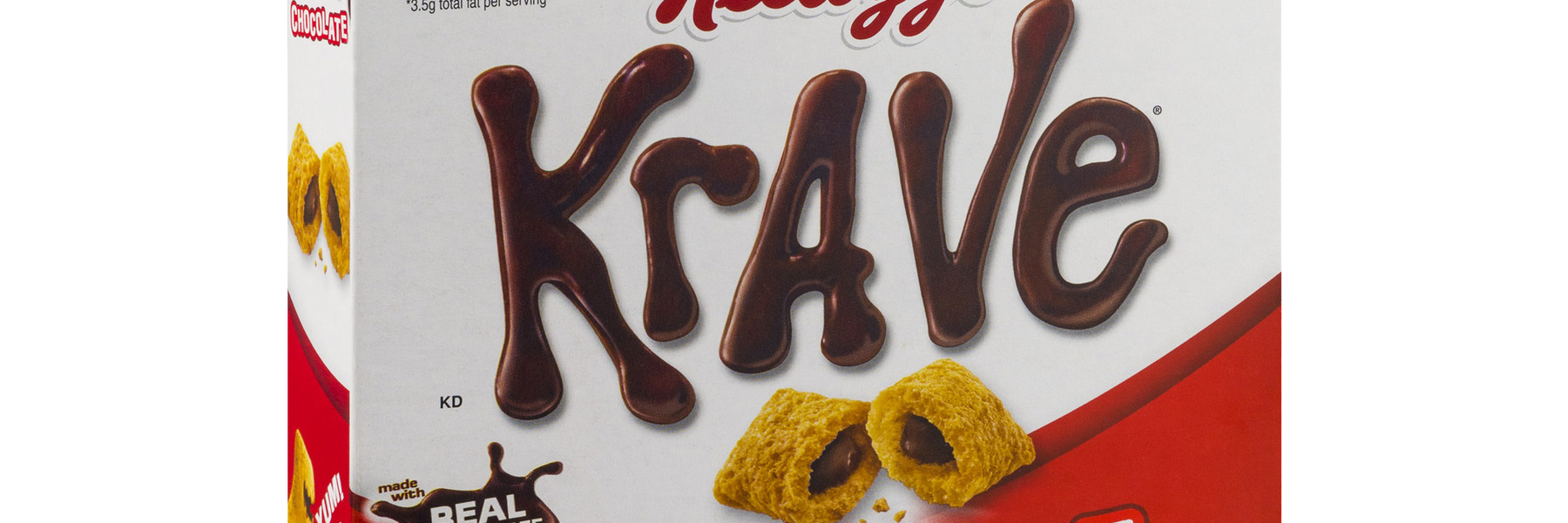 Box of Kellogg's Krave cereal