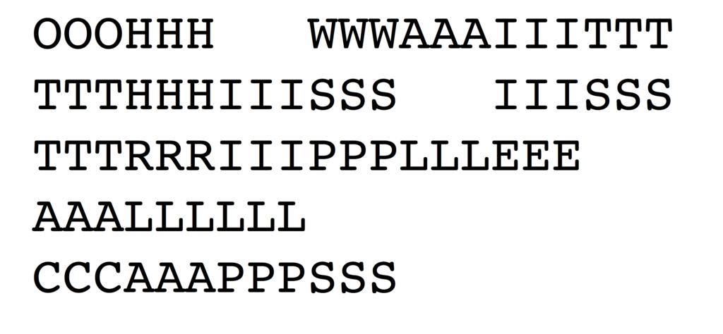 OOOHHH WWWAAAIIITTT TTTHHHIIISSS IIISSS TTTRRRIIIPPPLLLEEE AAALLLLLL CCCAAAPPPSSS