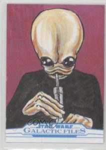 2017 Topps Star Wars Galactic Files Reborn Sketch Cards GLSA Glenn Savage 6g7