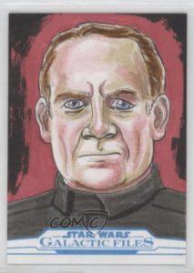 2018 Topps Star Wars Galactic Files Reborn Sketch Cards GLSA Glenn Savage 6g7