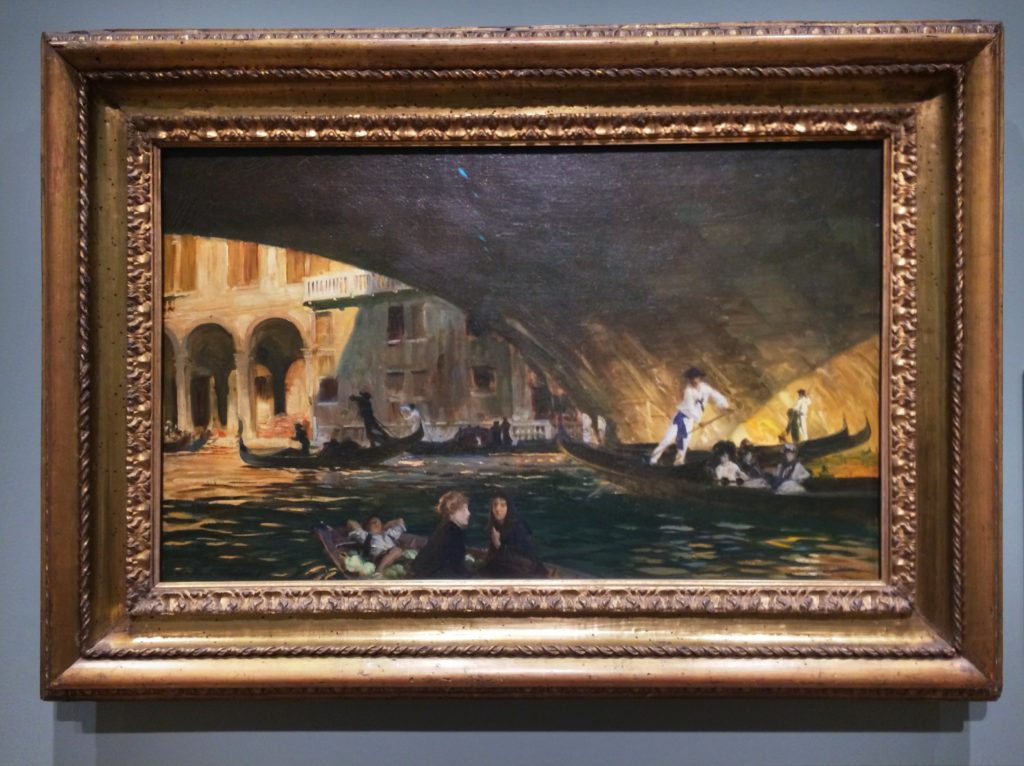"""The Rialto, Venice"" by John Singer Sargent"
