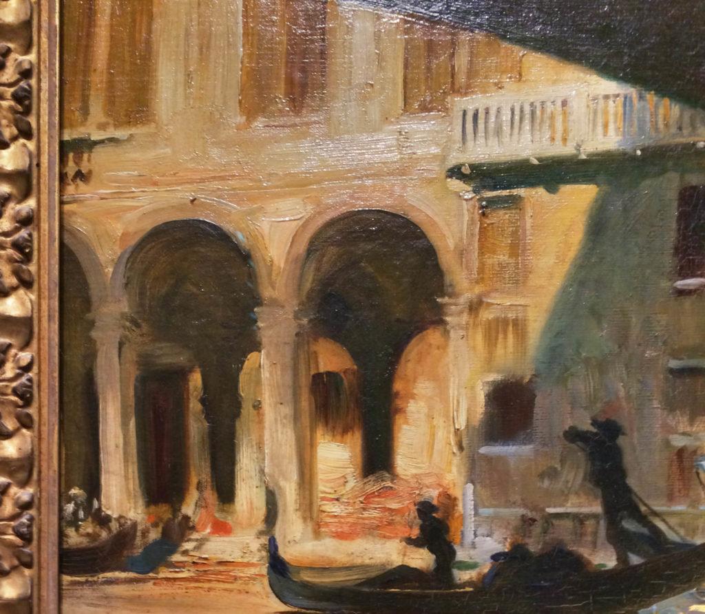 The Rialto, Venice-detail