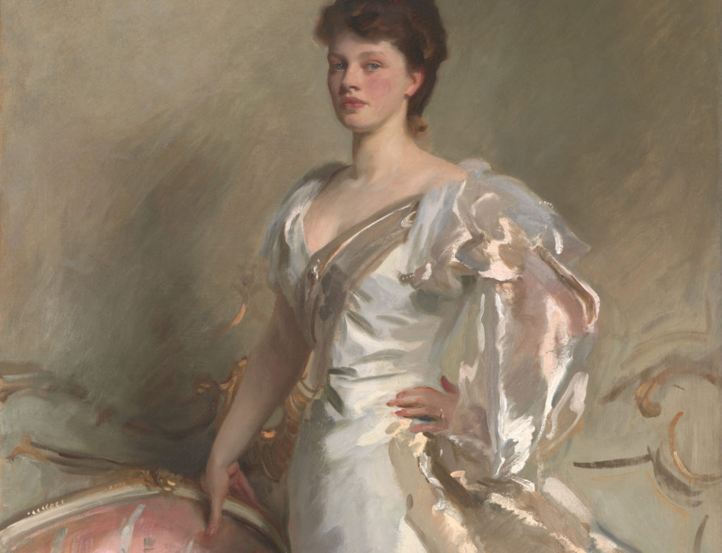 John Singer Sargent's painting Mrs George Swinton