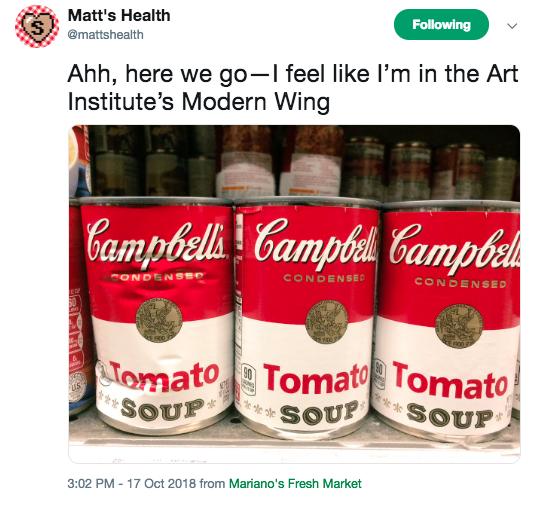 Ahh, here we go—I feel like I'm in the Art Institute's Modern Wing
