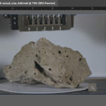 Moon Rock 76215 printed at actual size in Adobe InDesign