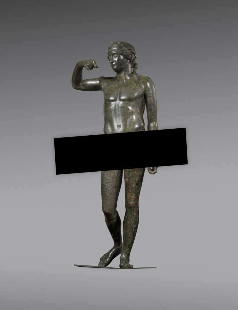 Statue of Young Dionysos: Censored, sorry!