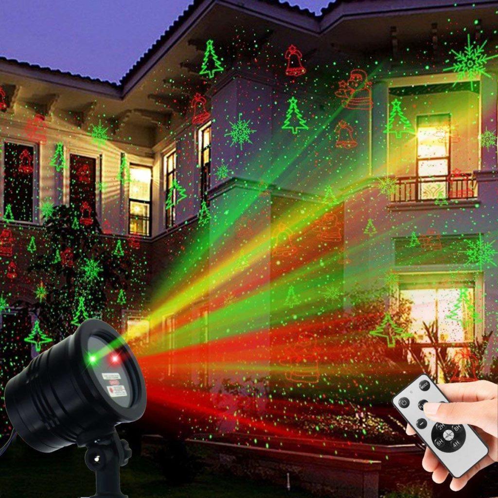 Christmas projection lights