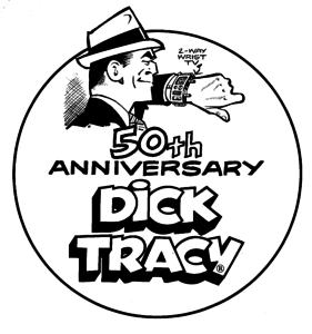 Dick Tracy 50th anniversary